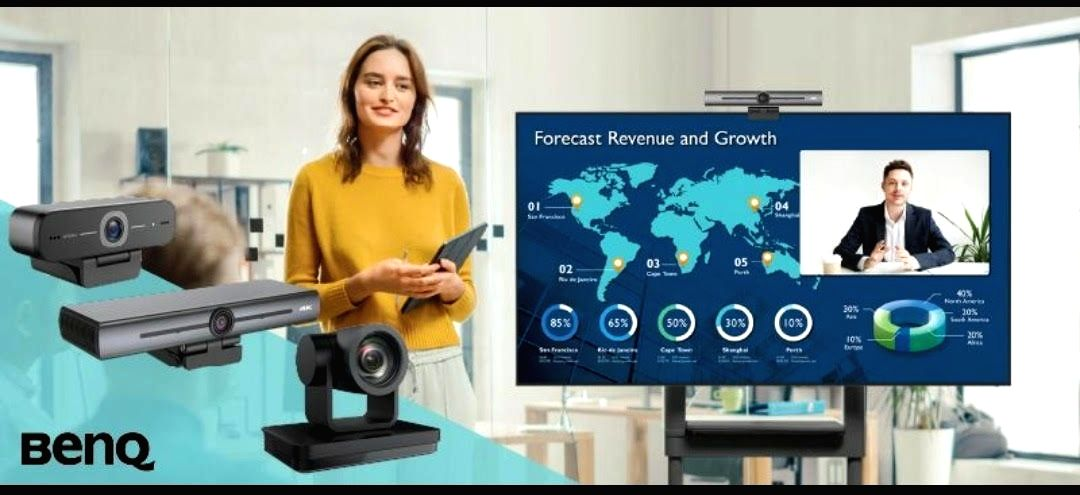 BenQ launches new range of video conferencing cameras in India.