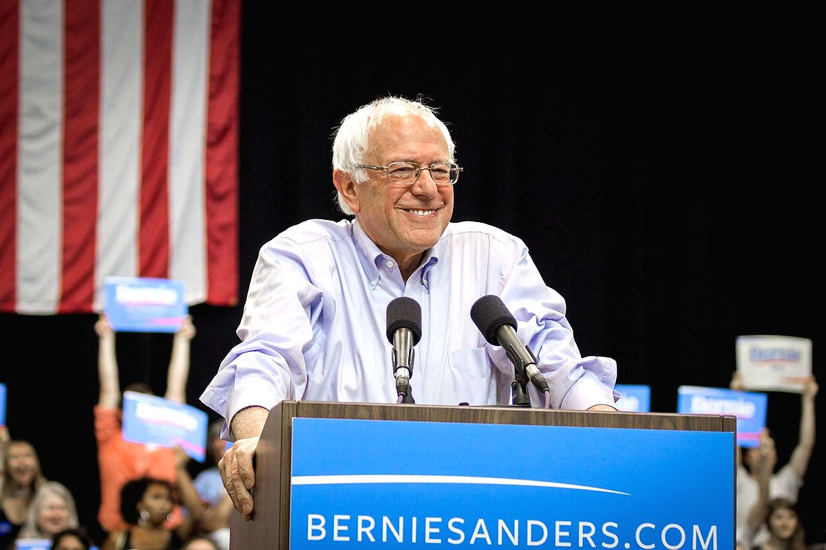 Bernie Sanders (WikiMedia/Nick Solari photo)