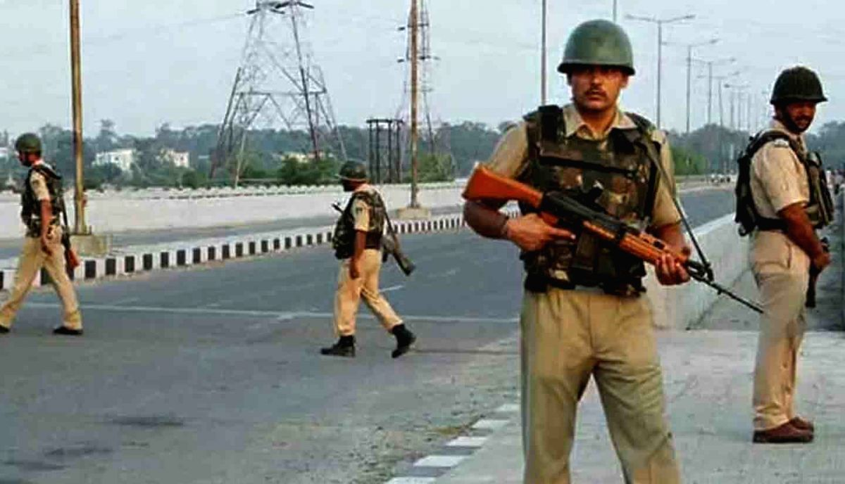 Bhupalpally: Telangana's Bhupalpally district have been alerted and extensive police inspections have been launched in the wake of the bandh call given by Maoists in a protest against the encounter of a Maoist at Devellagudem of Gundala mandal in Bha