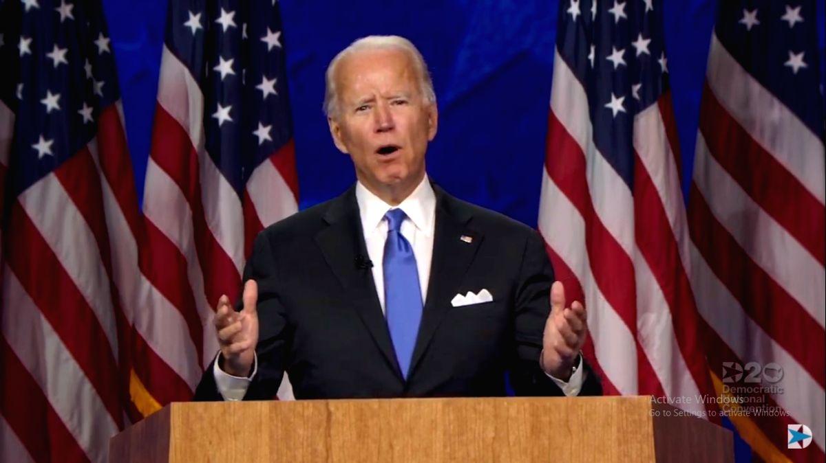 Biden condemns violence in Portland. (Photo: DNC/IANS)