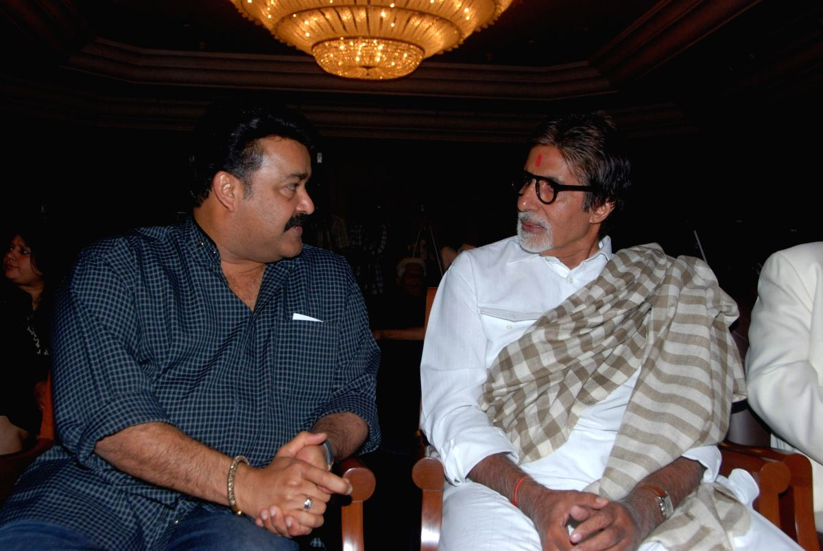Big B and Mohanlal