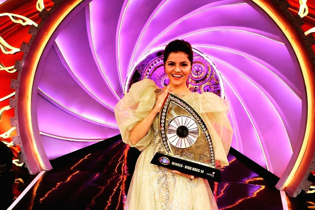 Bigg Boss 14: Rubina Dilaik wins show.(photo:instagram)