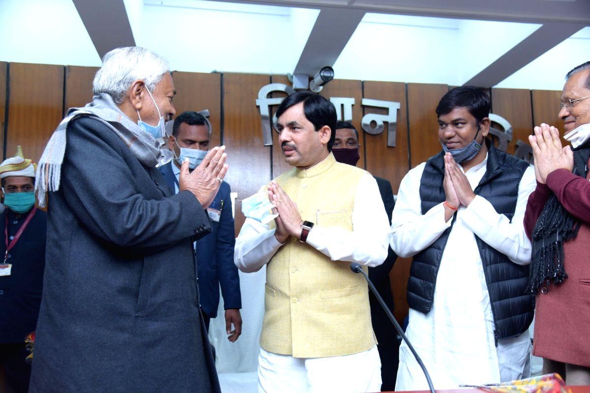 Bihar cabinet expansion: Shahnawaz gets industry, road construction for Nitin