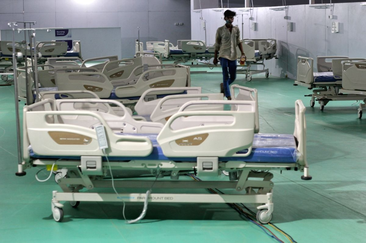 BJP lashes out at AAP govt over health infra in Delhi. (Photo: Wasim Sarvar/ IANS)