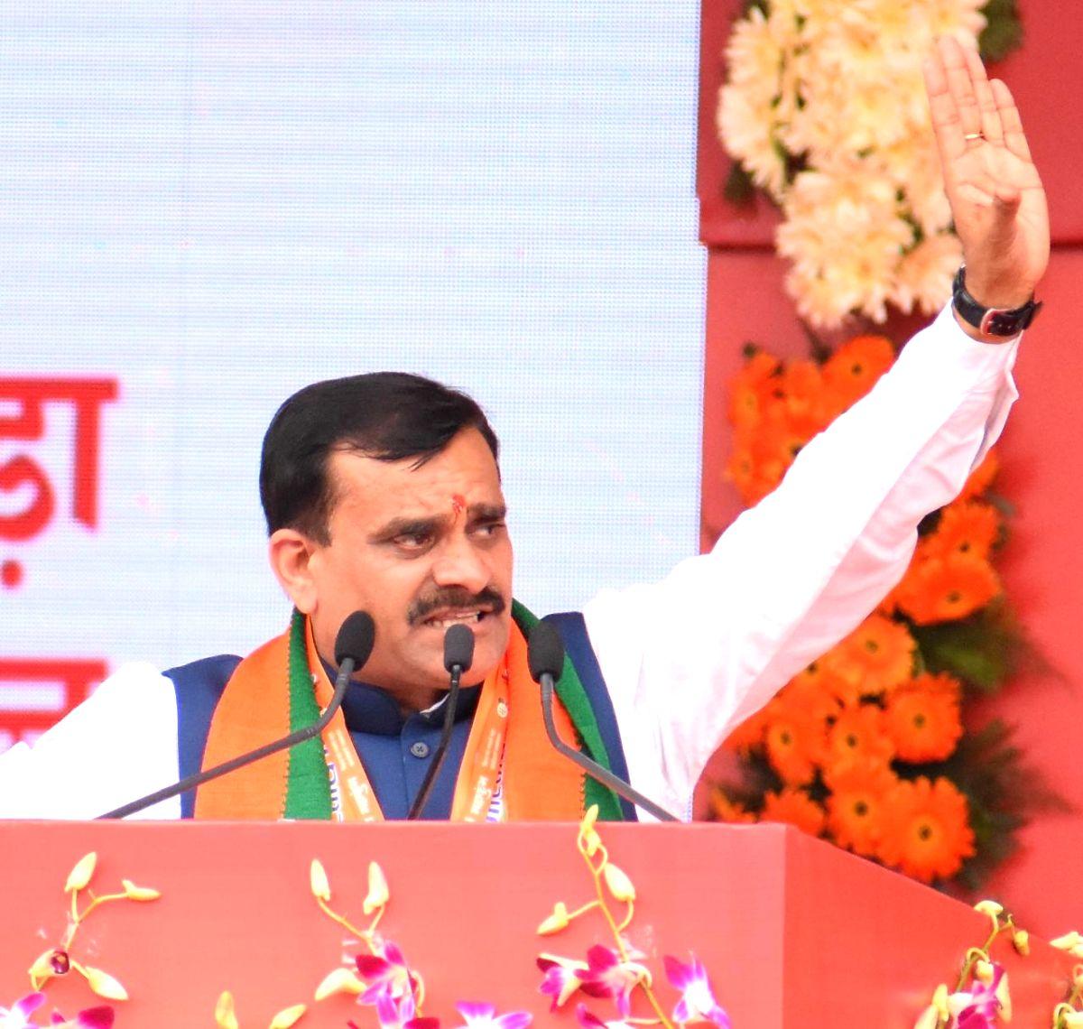 BJP Madhya Pradesh president VD Sharma.