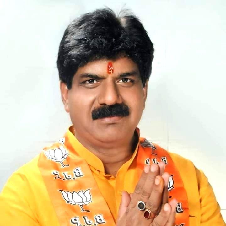 BJP MLA Rajkumar Sahyogi.
