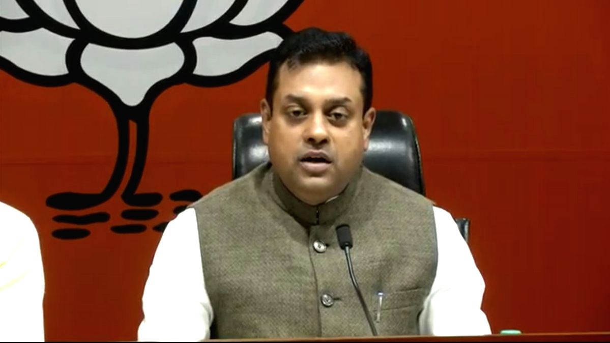 BJP national spokesperson Sambit Patra.