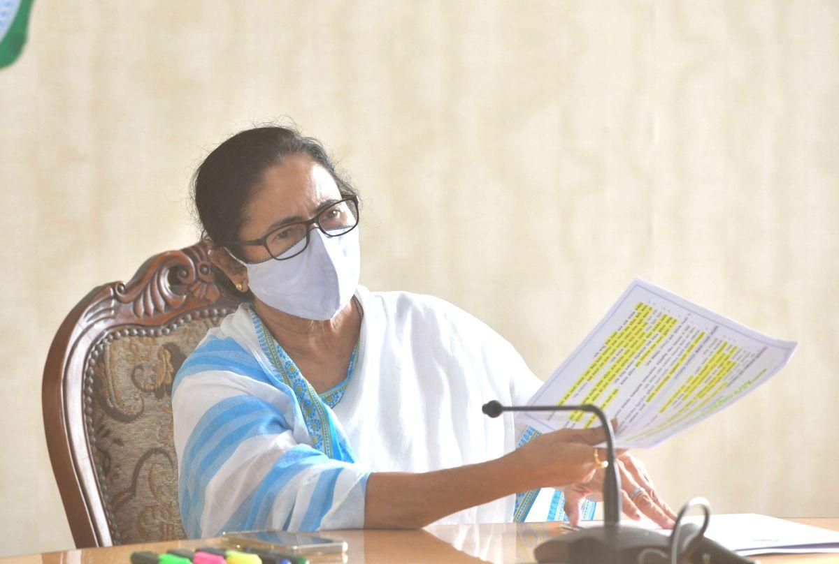 BJP trying to divide Bengal: Mamata Banerjee.