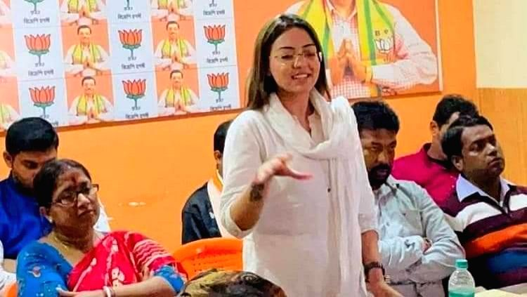 BJP youth leader Pamela arrested in Kolkata with drugs worth Rs 10L
