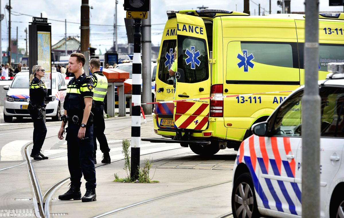 Blast occurs near Dutch Covid testing centre