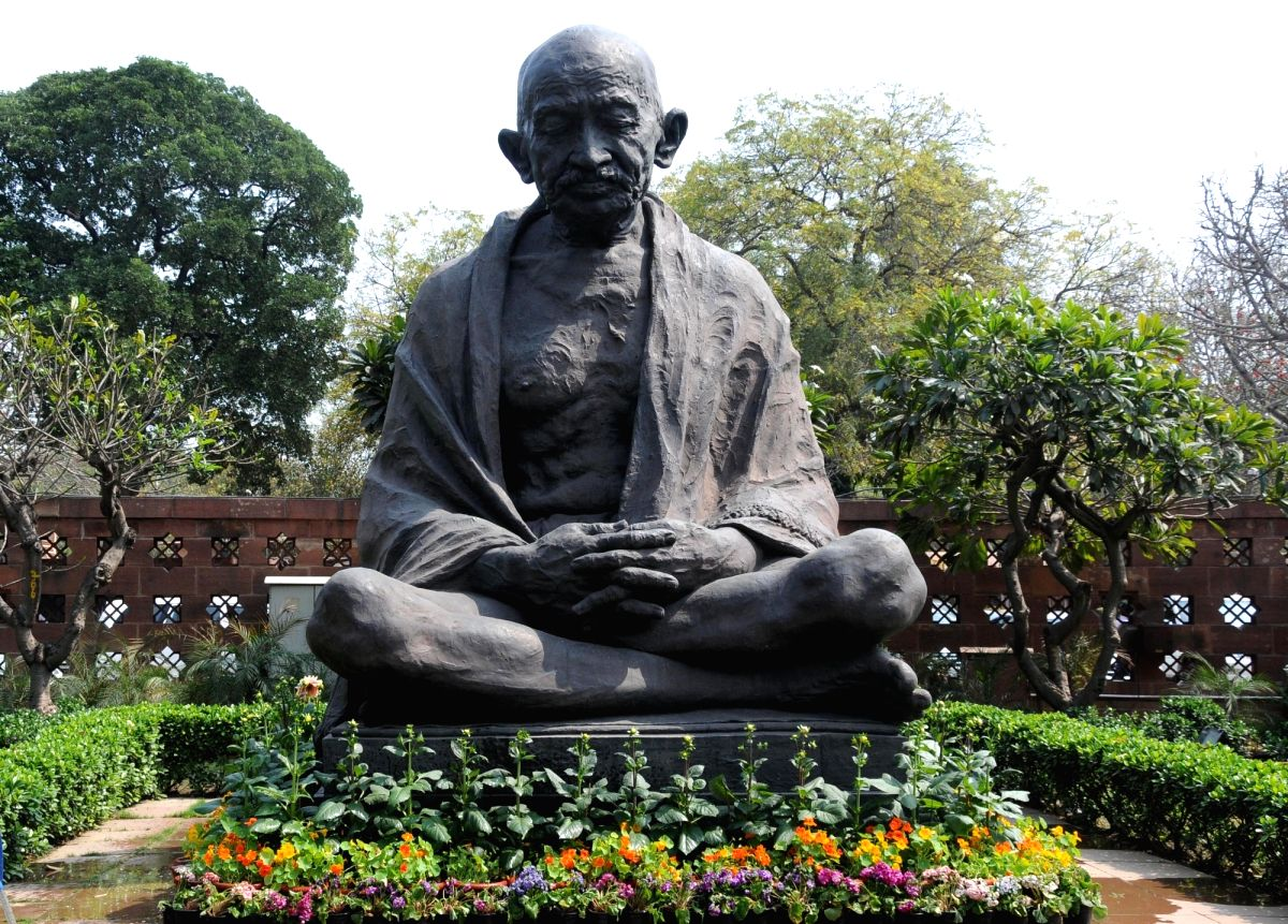 Blending handmade paper, calligraphic precision and one of India's most revered leaders, Mahatma Gandhi, an ongoing exhibition at the IGNCA here is exploring images, symbols, words and thoughts related to him. (File Photo: IANS)