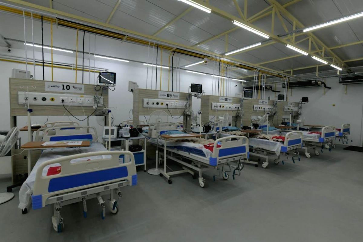 Boeing establishes 100-bed hospital in Bengaluru.