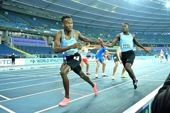 Botswana awards its World Athletics Relays bronze winning team