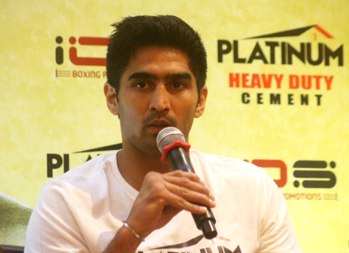 Boxer Vijender Singh.