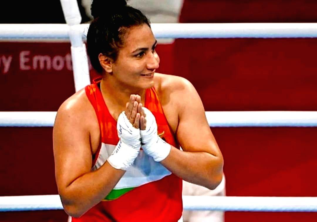 Boxing: Pooja Rani loses quarter-final bout, out of Tokyo Olympics(photo:Twitter: @niharika_raina)