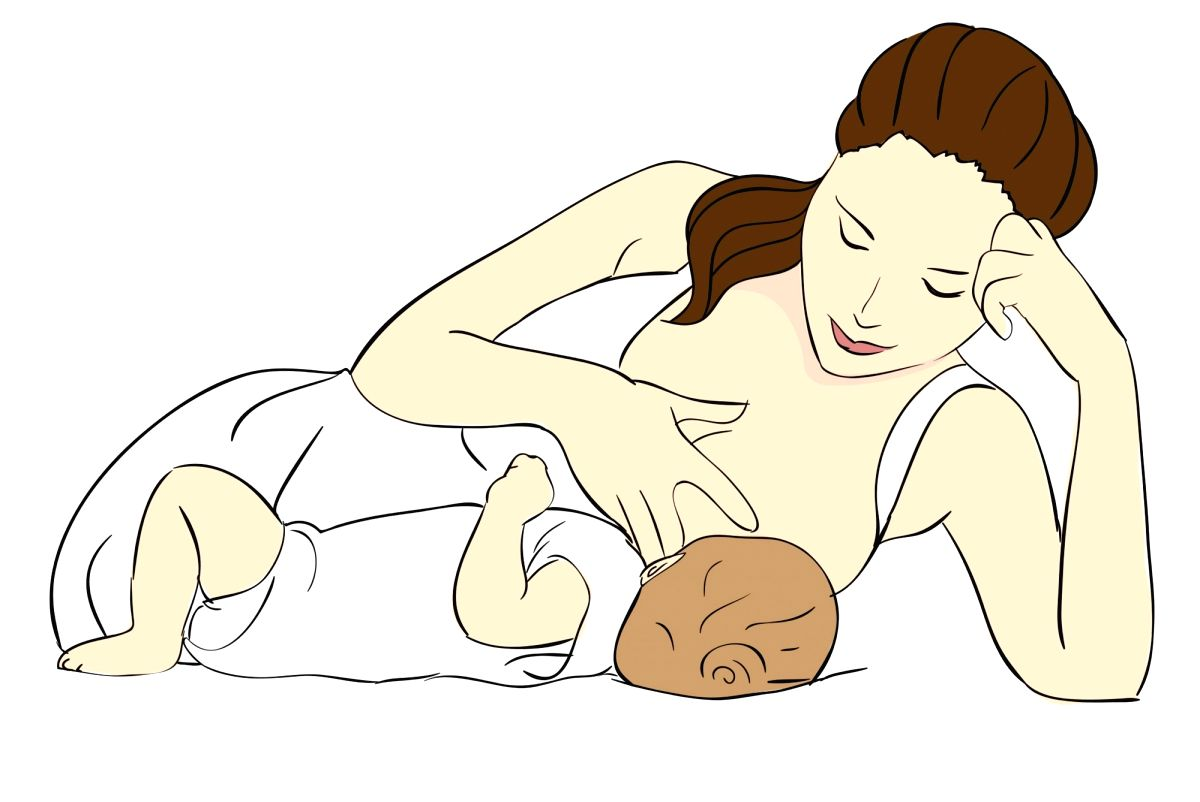 Breast feed.