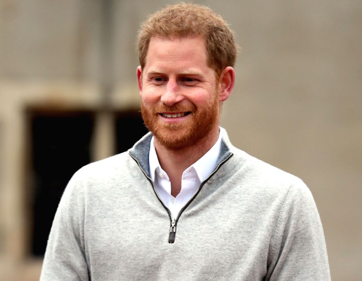 Britain's Prince Harry. (Xinhua/Pool/IANS)