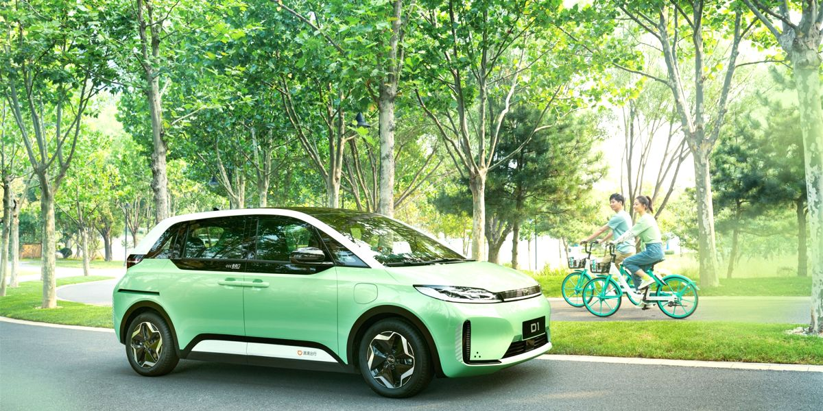 Called D1, the world's first EV built exclusively for ride-hailing is a result of collaboration between China's top ride-hailing company Didi Chuxing and BYD Company Ltd., one of the world's largest electric vehicle manufacturers. (Photo: Didi Chux