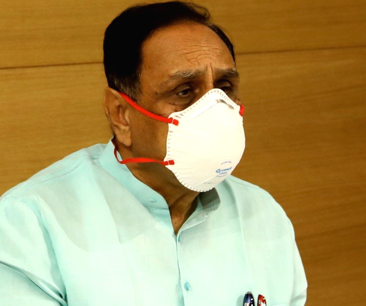 Caption: Gujarat Chief Minister Vijay Rupani.