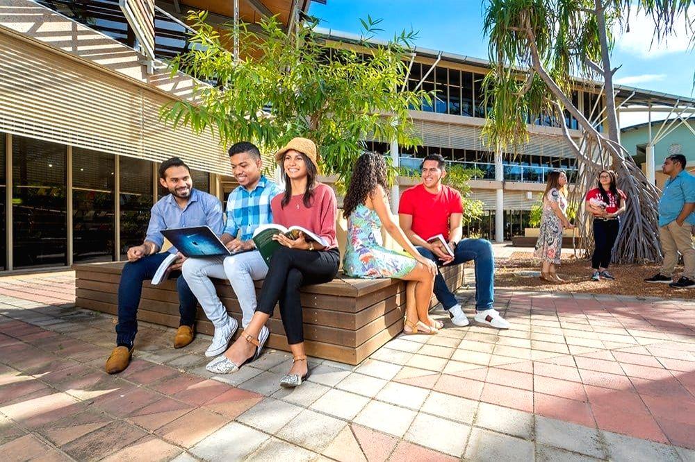 Charles Darwin University in Australia.