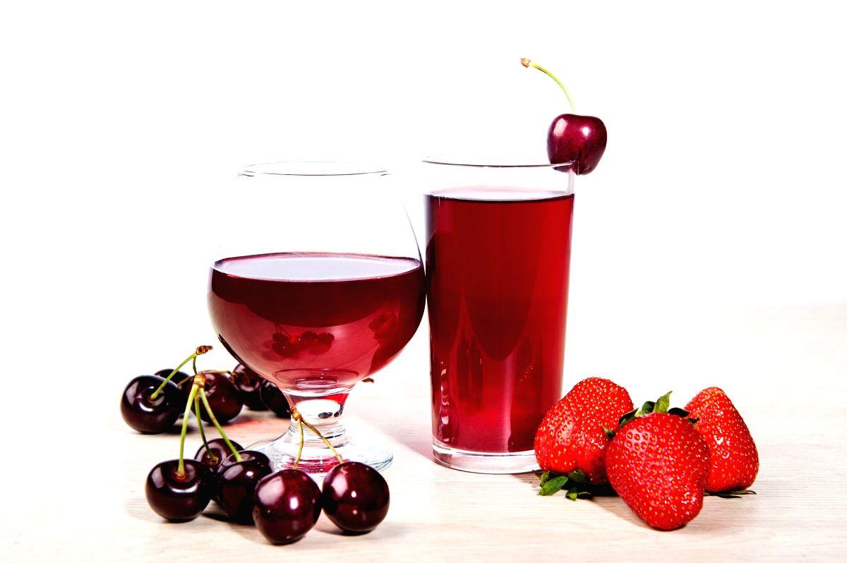 Cherry juice.