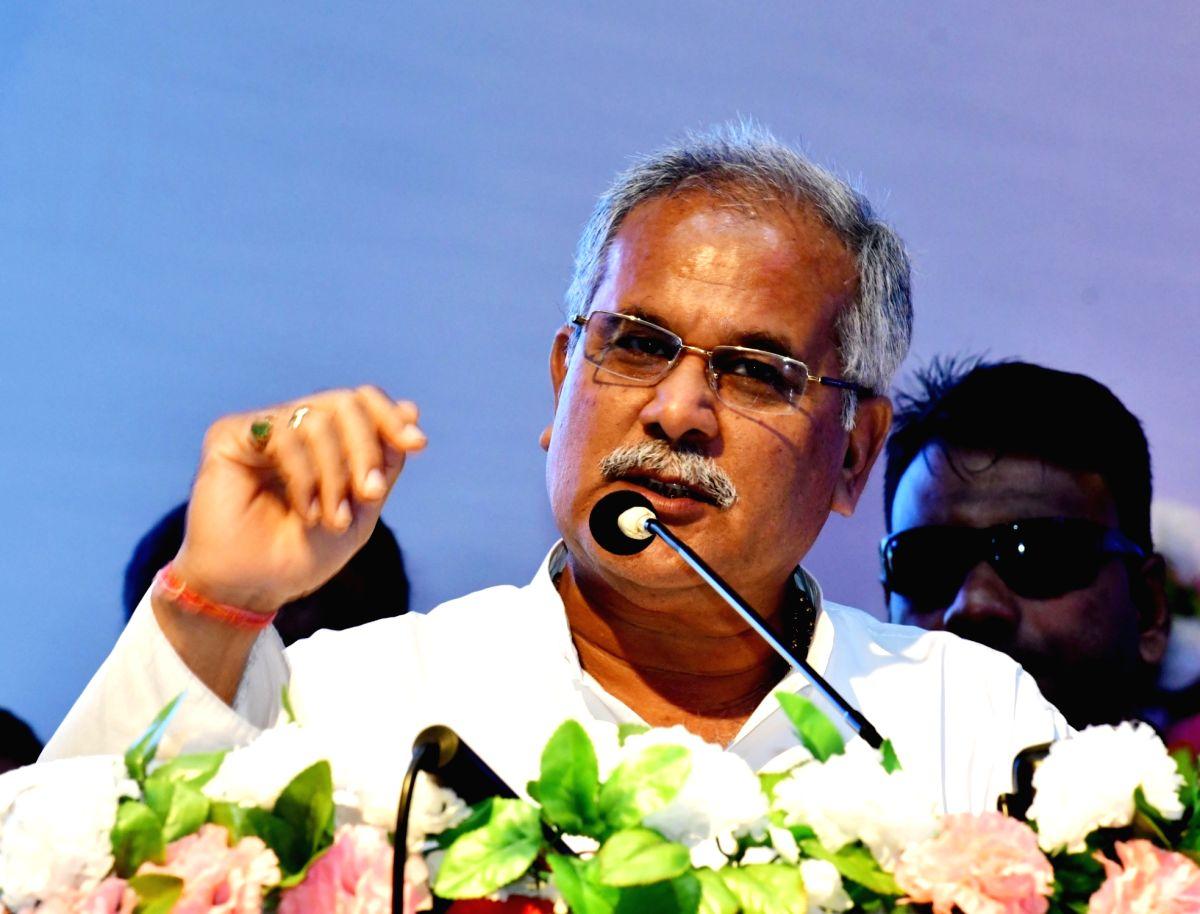 Chhattisgarh Chief Minister Bhupesh Baghel.