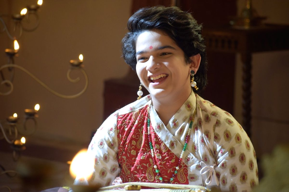 Child star Krish Chauhan learns to play mridangam for TV show