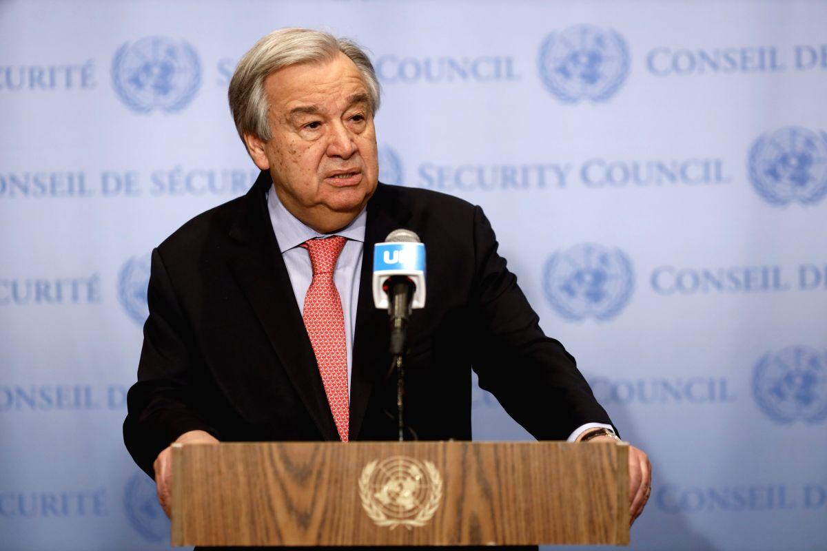 Children face an assault on human rights: UN chief