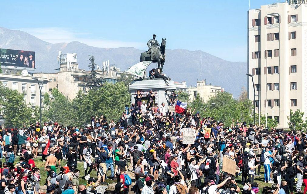Chile Protest.