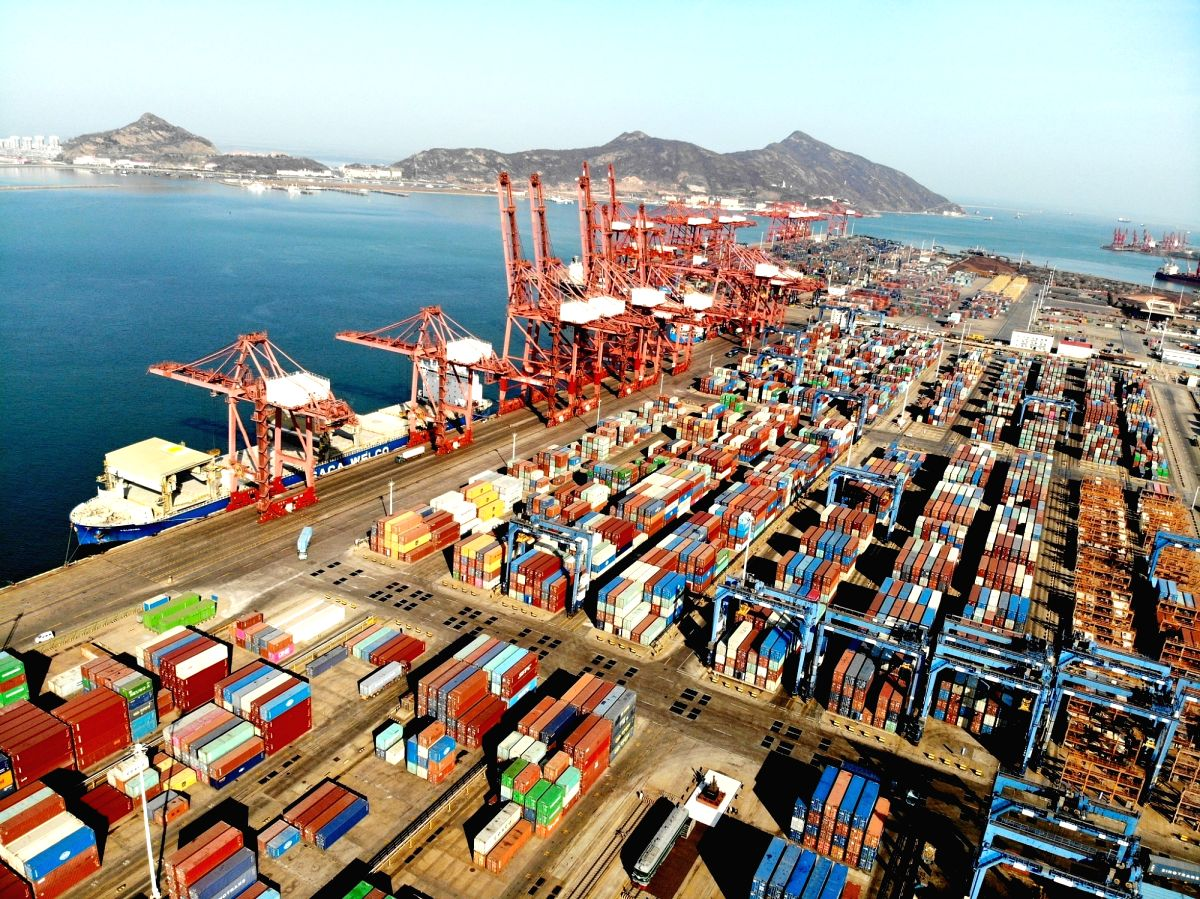 China's foreign trade started well in the first quarter.