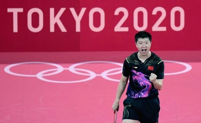 China's Ma wins unprecedented back-to-back Olympic singles titles