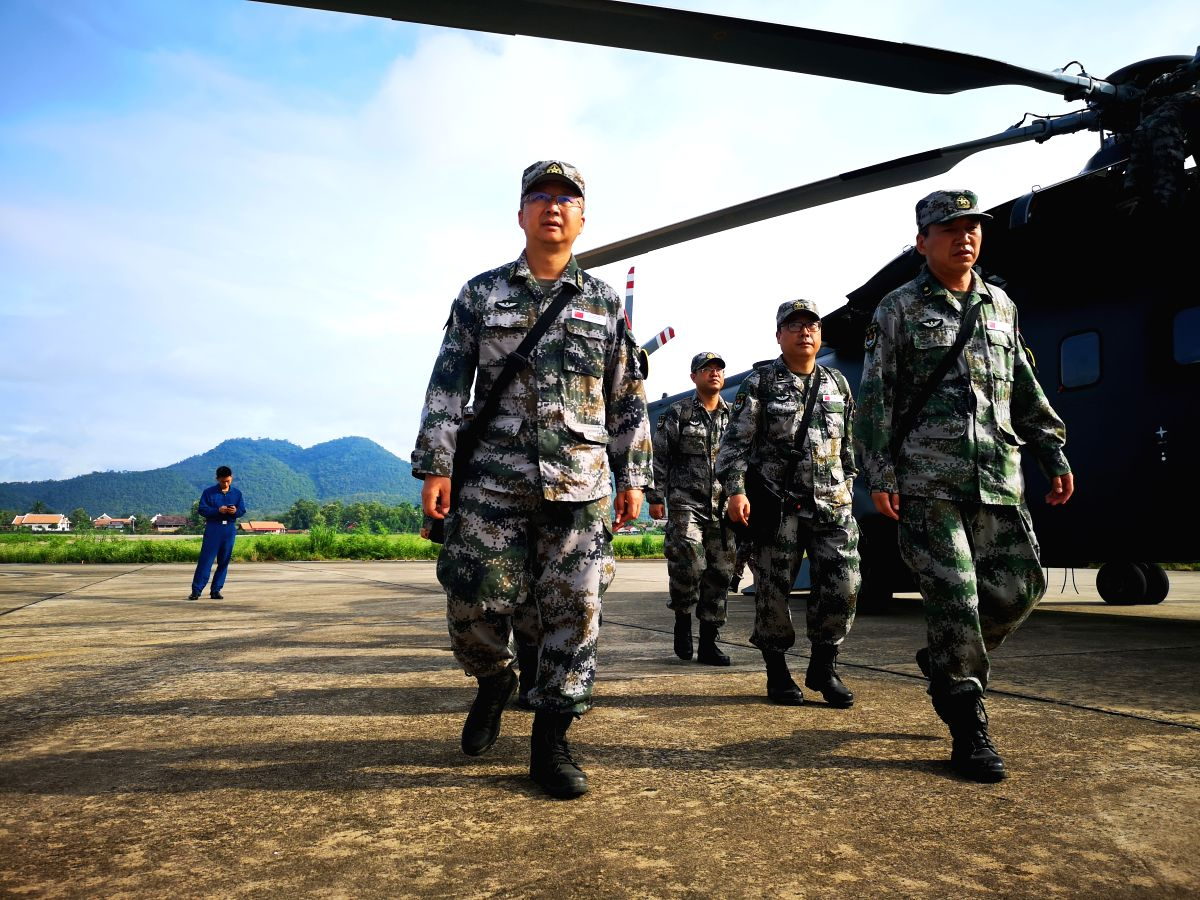China using machine guns, rocket launcher to train troops in Tibet