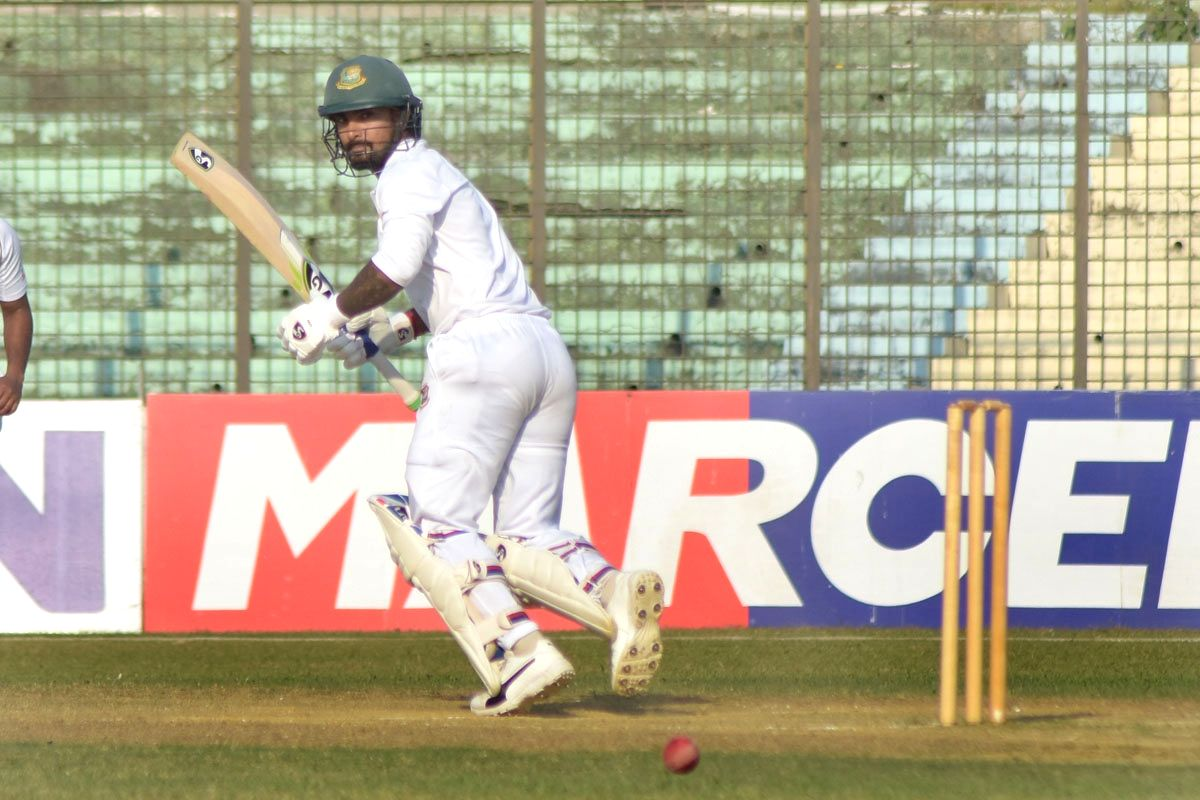 Chittagong: Bangladesh's Liton Das in action during a 2-day match between West Indians and Bangladesh Cricket Board XI at MA Aziz Stadium in Chittagong, Bangladesh on Nov 19, 2018. (Photo: bdnews24/IANS)