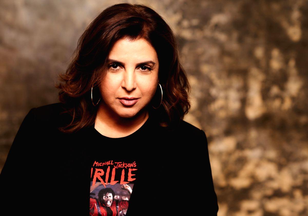 Choreographer-filmmaker Farah Khan.