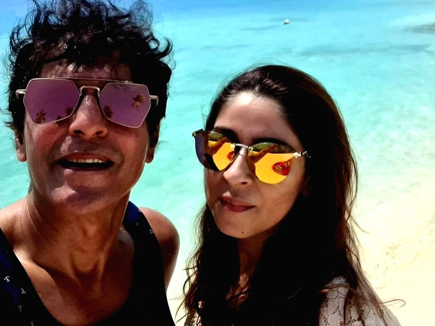 Chunky Panday: I'm proud to be Ananya Panday's dad.(photo:instagram)