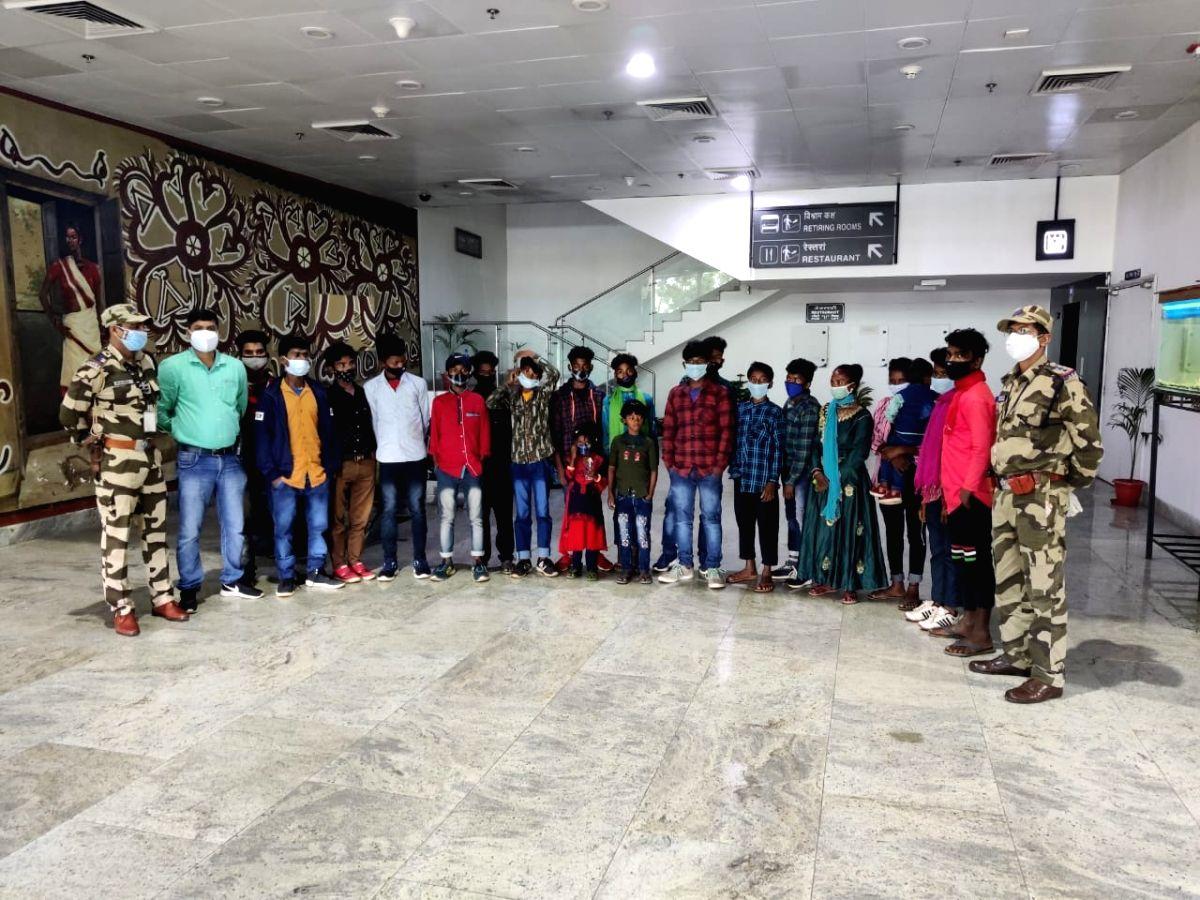 CISF foils major child trafficking attempt, rescues 15 children