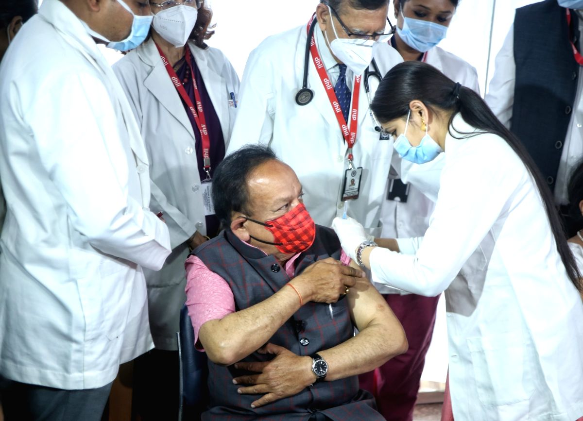 Close to 40 Lakh signed up on CoWIN till Tue morning: Harsh Vardhan