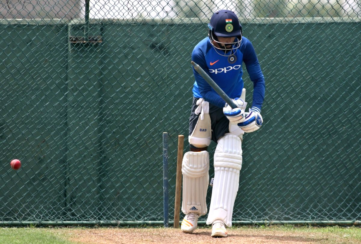 Colombo: Indian cricketer KL Rahul during a practice session at the Sinhalease Sports Club (SSC) Ground in Colombo on Aug 2, 2017. (Photo: Surjeet Yadav/IANS)