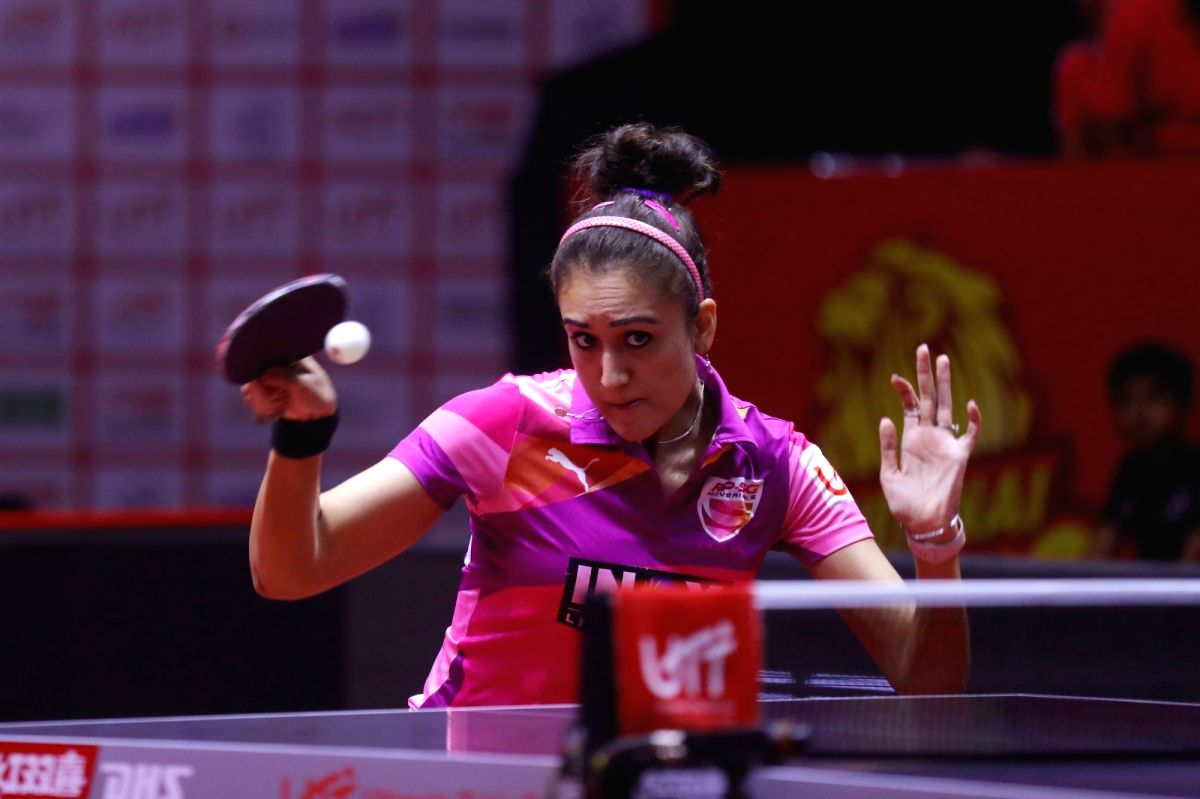 Commonwealth Games (CWG) gold medallist Manika Batra on Monday began her campaign the World Table Tennis (WTT) Contender on a winning note here.