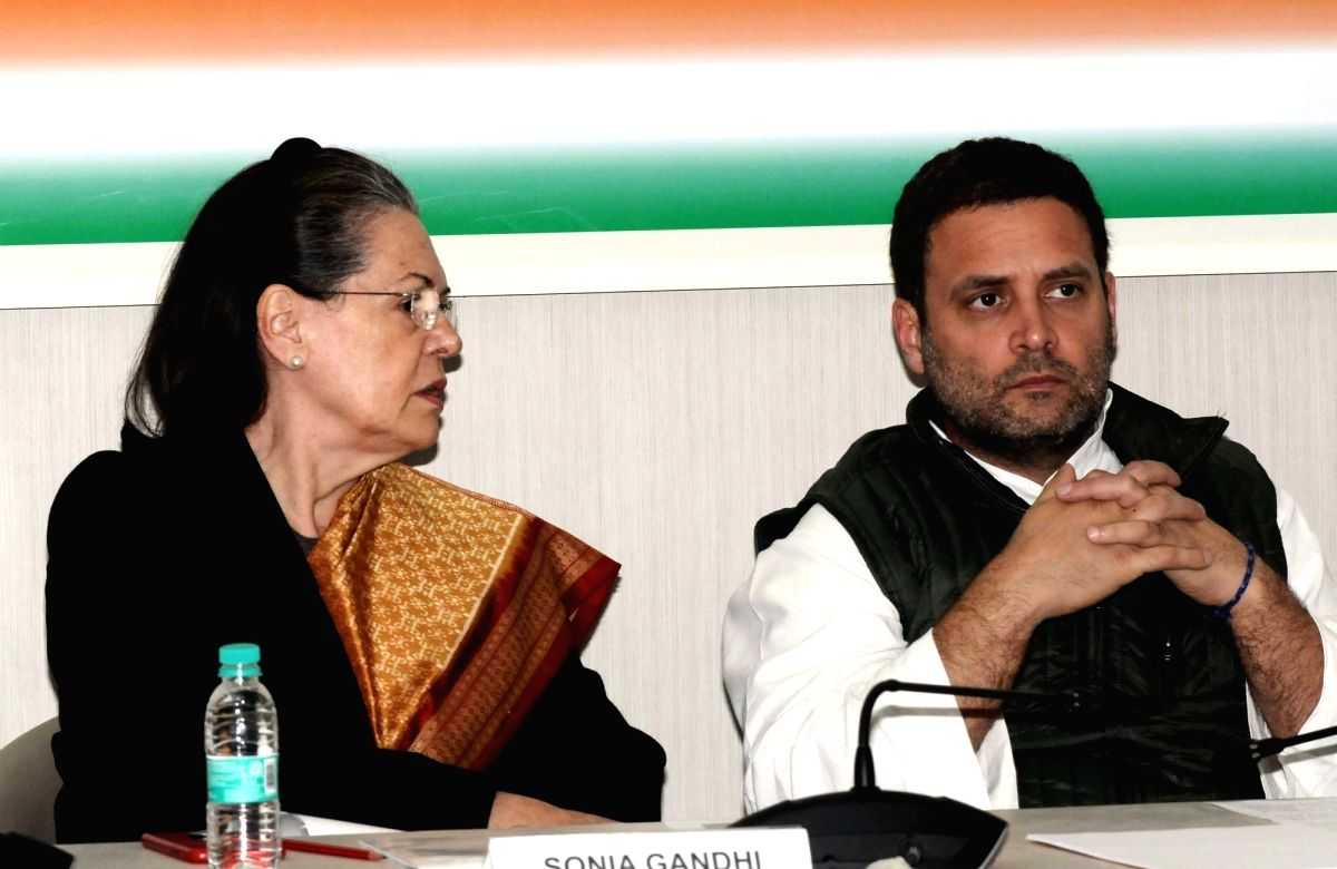 Congress Chief Rahul Gandhi and UPA chairperson Sonia Gandhi. (File Photo: IANS)