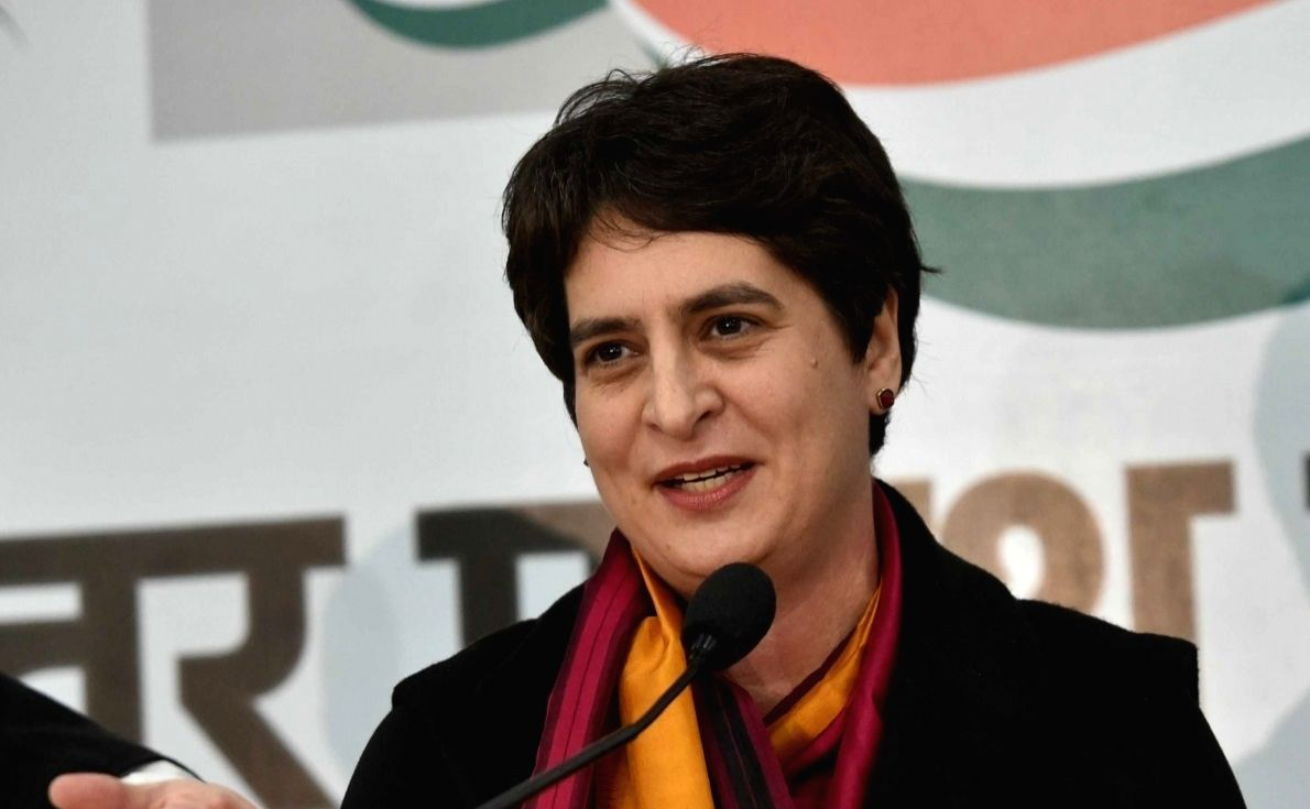 Priyanka slams BJP for 'hoarding' Remdesivir