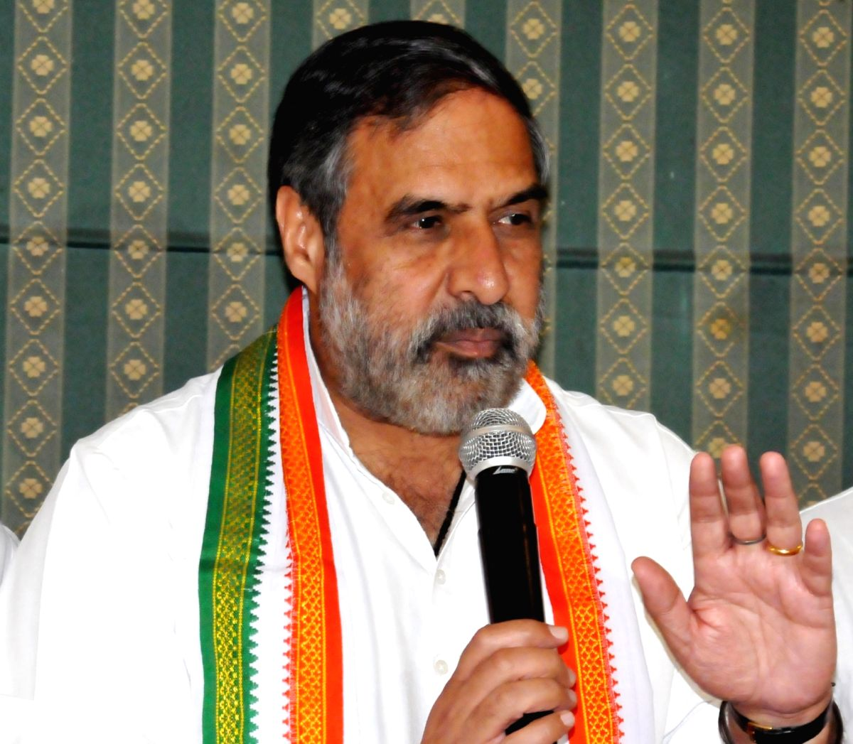 Congress leader Anand Sharma. (File Photo: IANS)