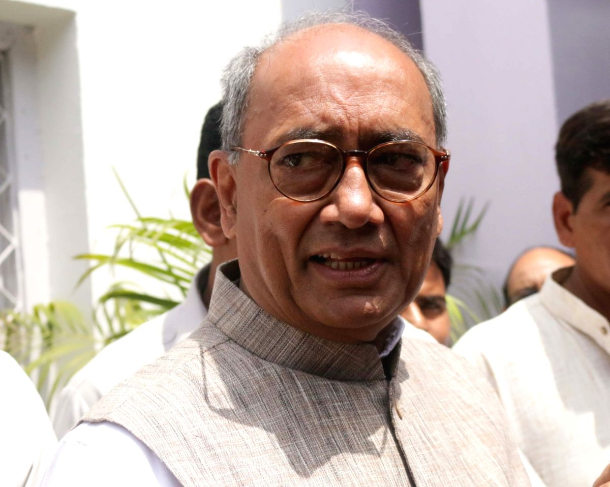 Congress leader Digvijaya Singh. (File Photo)