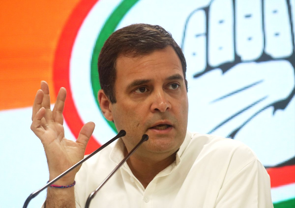 Amit Shah has failed the country by sowing hatred: Rahul