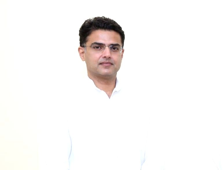 Congress leader Sachin Pilot .