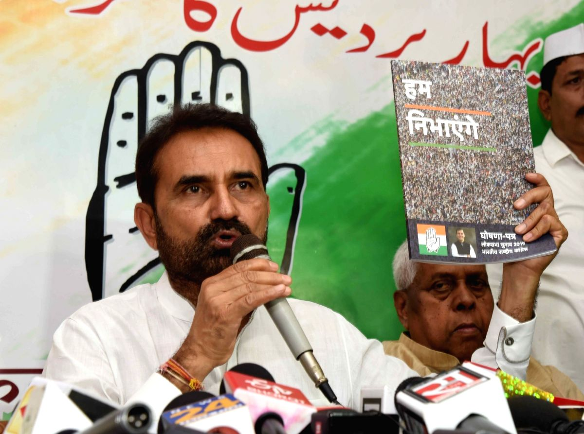 Congress leader Shakti Singh Gohil .