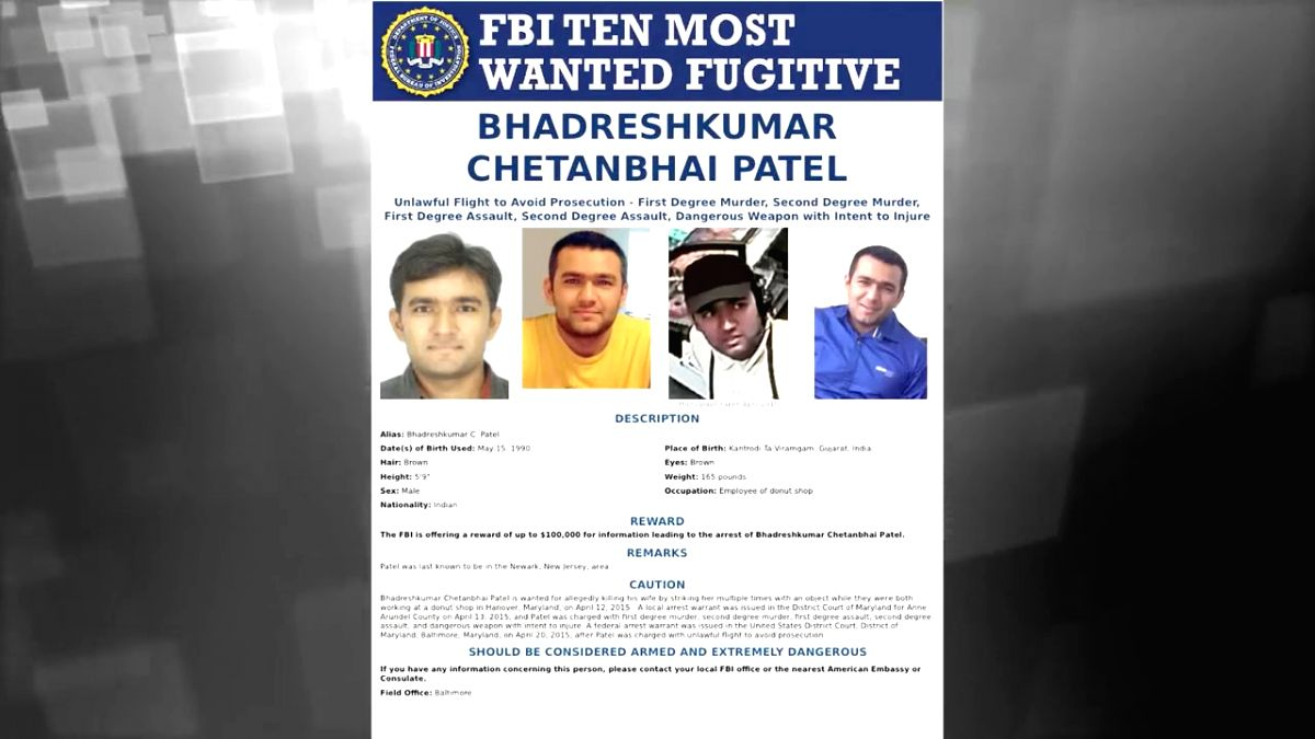 Considered as one of the biggest ever simultaneous chases in the US and India, the Federal Bureau of Investigation (FBI) is hunting for an Indian fugitive, Bhadresh Kumar Patel, for the past four years.