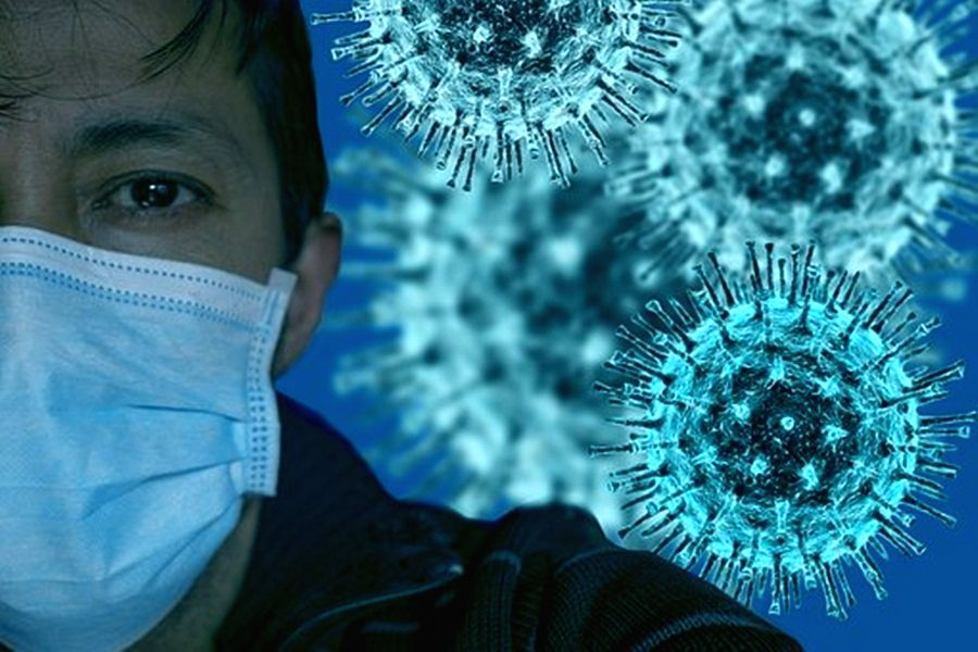 Covid virus evolving 'to become better at spreading in air'