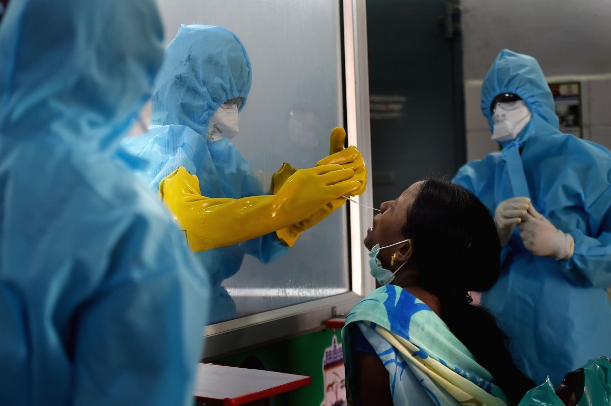 Coronavirus, India. (Photo: Xinhua/IANS )