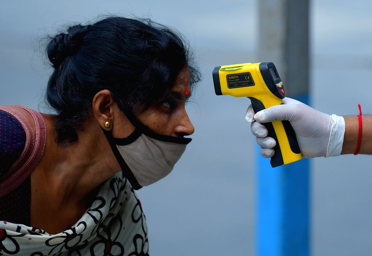 Coronavirus Test Tripura, India. (Photo: IANS/Xinhua)
